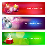 Website header or banner set Royalty Free Stock Image
