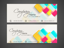 Website Header or Banner set. Royalty Free Stock Images