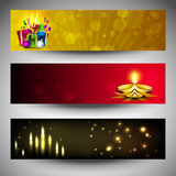 Website headers or banners Stock Image