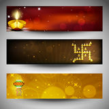 Website headers or banners Royalty Free Stock Photography