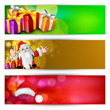 Website Headers or Banners set. Stock Photography