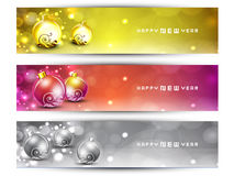 Website Headers or Banners set. Royalty Free Stock Photography
