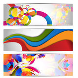 Website headers .Vector.Eps10 Royalty Free Stock Photography