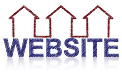 Website home Stock Photography