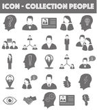 Website Icon Collection ( People / Business) stock images
