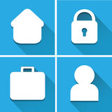 Website icon great for any use. Vector EPS10. Stock Photo