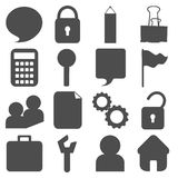 Website icon great for any use. Vector EPS10. Stock Photography