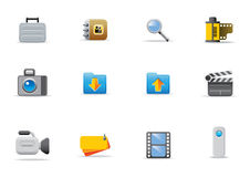 Website Icons Stock Images