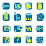 Website Icons Stock Image