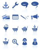 Website icons Royalty Free Stock Images