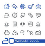 Website Icons // Line Series Stock Photos