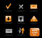 Website icons, part 3 royalty free stock images