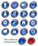 Website icons - SET 1 Stock Images