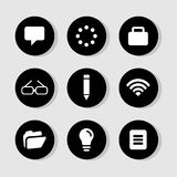 Website icons set great for any use. Vector EPS10. Stock Image