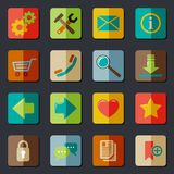 Website Icons Set Stock Photography