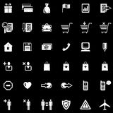 Website Icons Set (Vector) royalty free illustration