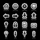 Website icons Stock Photo