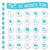 Website icons royalty free illustration