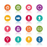 Website icons Royalty Free Stock Image
