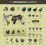 Website & infographic design elements. Vector set of various website and infographic elements - illustration in freely scalable and editable vector format Royalty Free Stock Photography
