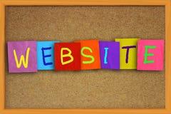 Website Internet Concept Stock Photos