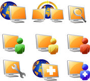 Website and internet icon Stock Images