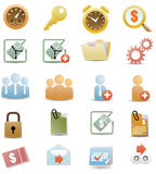 Website and Internet Icons.  Royalty Free Stock Photography