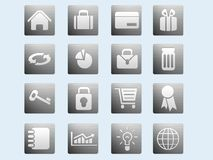 Website & Internet icons Royalty Free Stock Images