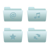 Website & Internet Icons Set | Folders 01 Royalty Free Stock Images