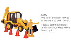 Website Maintenance Stock Image