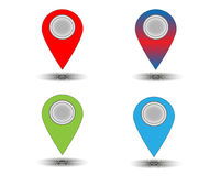 Website map signs Royalty Free Stock Photos