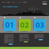 Website modern Template Stock Images