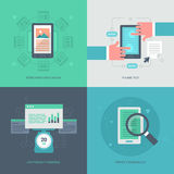 Website Optimization for Mobile Royalty Free Stock Photo