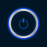 Website power button Royalty Free Stock Photography