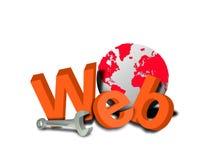 Website repair tools Royalty Free Stock Photo