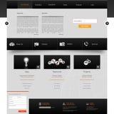Website-Schablonen-Design ENV 10 Stockfotos