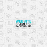 Website seamless grey background Royalty Free Stock Photos