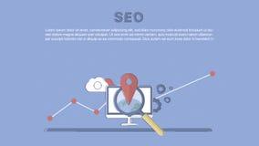 Website SEO optimization. Royalty Free Stock Image