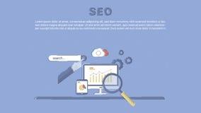 Website SEO optimization. Stock Photography