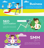 Website SMM and SEO optimization. Royalty Free Stock Photo
