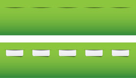 Website tabs for menu Royalty Free Stock Photo