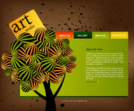 Website Template 03 Stock Photo
