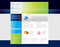 Website template stock illustration