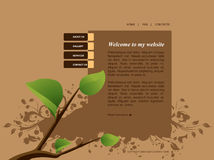 Website Template 55 Royalty Free Stock Photos