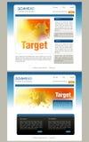 Website Template Stock Photos