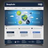Website Template Stock Image