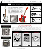 Website template 7 Stock Photography