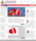 Website template 3 Royalty Free Stock Photo
