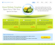 Website Template For Health Care Company Stock Photo