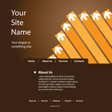 Website Template Vector Stock Images